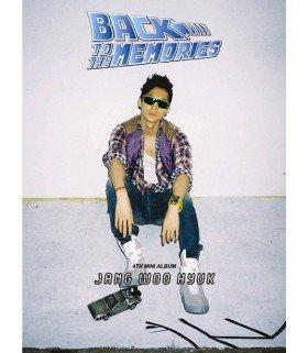 Jang Woo Hyuk 4th Mini Album - Back to The Memories (édition coréenne)
