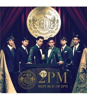 2PM - Republic of 2PM (édition normale japonaise)