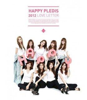 """Happy Pledis 2012 """"Love Letter"""" (Son Dambi + After School + Orange Caramel)(édition coréenne)"""
