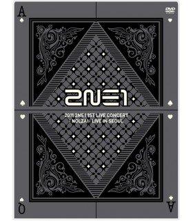 2NE1 1st Live Concert - NOLZA! (2DVD+Photobook) (First Press) (édition limitée coréenne) (Poster offert)