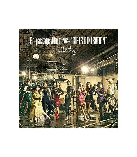 "Girls' Generation - Re:package Album ""GIRLS' GENERATION"" - The Boys - (édition japonaise)"