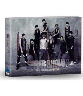 Super Junior - The 3rd Asia Tour: Super Show 3 (2DVD+Photobook+Poster) (édition coréenne) (T-shirt M Super Junior offert*)