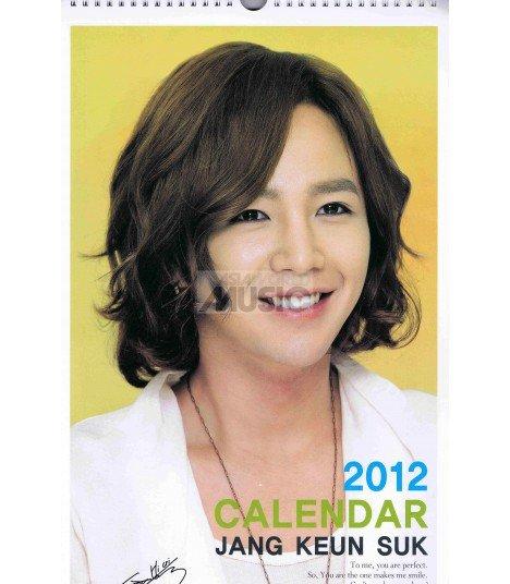JANG GEUNSUK 2012 Calendar 45x28.5cm (mural)