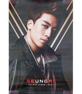 Affiche officielle Seung Ri (Big Bang) 1st Mini Album VVIP