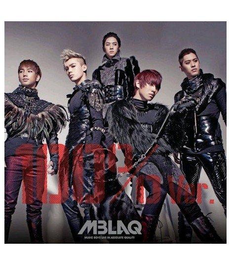 MBLAQ Mini Album Vol. 4 - 100%Ver (édition coréenne) (Poster offert)