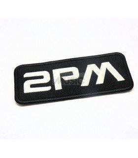 Badge en tissu brodé 2PM