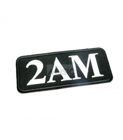 Badge en tissu brodé 2AM