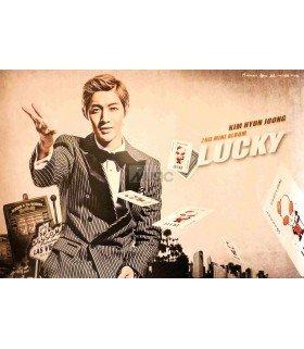 Affiche Officielle Kim Hyun Joong Mini Album Vol. 2 - Lucky