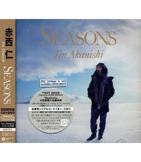 Jin Akanishi - Seasons (SINGLE+DVD) (édition limitée japonaise)