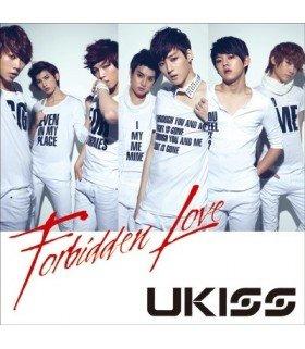 U-Kiss - Forbidden Love (SINGLE + DVD) (édition japonaise)