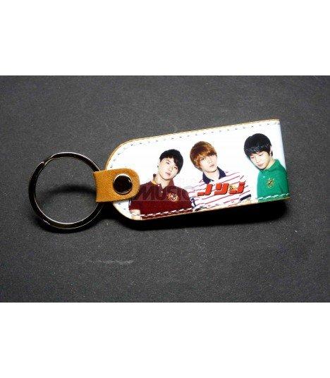 Porte clé en simili cuir JYJ 004
