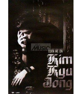 Affiche Officielle Kim Kyujong Mini Album Vol. 1 - Turn me on