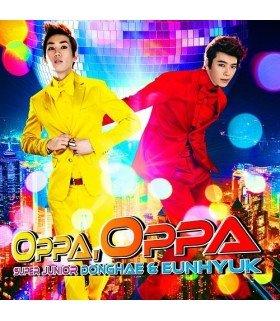 DONGHAE & EUNHYUK (SUPER JUNIOR) - Oppa, Oppa (édition japonaise)