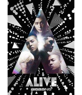 BIGBANG - ALIVE (ALBUM+DVD) (Type C) (édition japonaise)