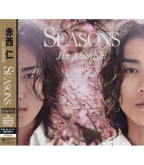 Jin Akanishi - Seasons (SINGLE+DVD) (édition limitée Taiwan)