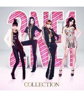 2NE1 - COLLECTION (ALBUM+2DVD) (édition japonaise)