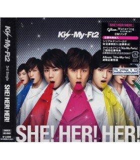Kis-My-Ft2 - She! Her! Her! (SINGLE+DVD) (édition limitée japonaise)