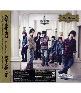Kis-My-Ft2 - Kis-My-1st (Jacket B) (ALBUM+CD BONUS) (édition limitée japonaise)