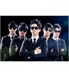 MBLAQ - MEN in MBLAQ 2011 LIVE CONCERT PHOTOBOOK (Photobook+DVD) (édition limitée coréenne)