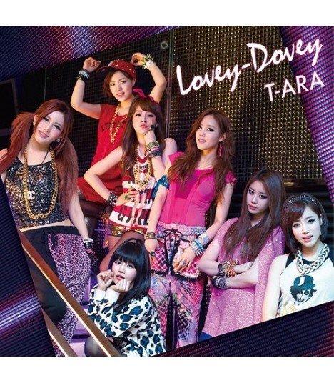 T-ara - Lovey-Dovey (version japonaise) (édition normale japonaise)