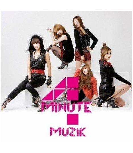 4Minute - Muzik (Jacket C) (CD+Photo Booklet) (édition coréenne)