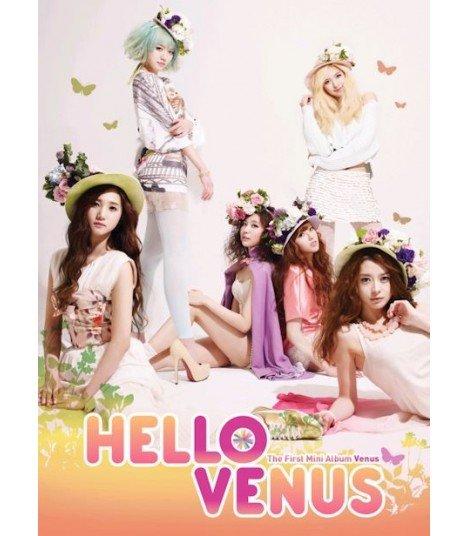 Hello Venus (헬로비너스) Mini Album Vol. 1 Venus (édition coréenne)
