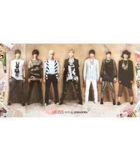 Affiche officielle U-Kiss Mini Album Vol. 6 - DORADORA