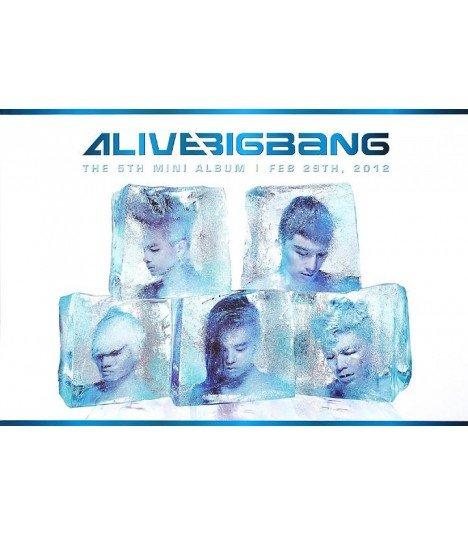 Affiche officielle BIGBANG Mini Album Vol. 5 - Alive