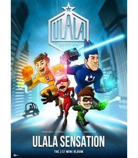 ULALA SESSION (울랄라 세션) Mini Album Vol. 1 - Ulala Sensation (édition coréenne)