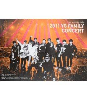 Affiche officielle YG Family - 15th Anniversary 2011 YG Family Concert Live Album