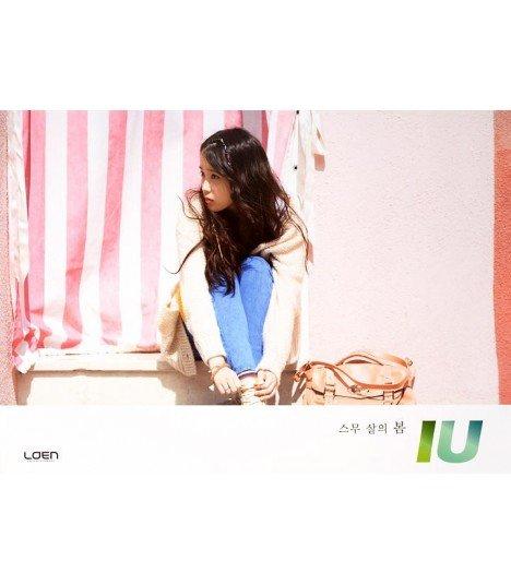 Affiche officielle IU Single Album - Spring of a Twenty Year Old