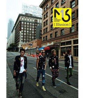 M.I.B (엠아이비) EP Album - Illusion (édition coréenne)