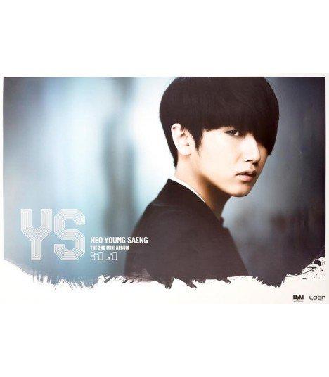 Affiche officielle Heo Young Saeng Mini Album Vol. 2 - SOLO (type B)