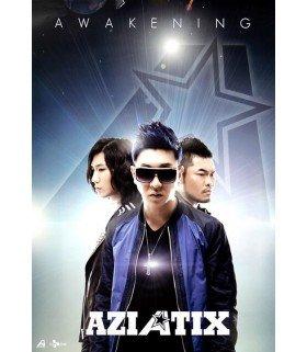 Affiche officielle Aziatix Mini Album - Awakening