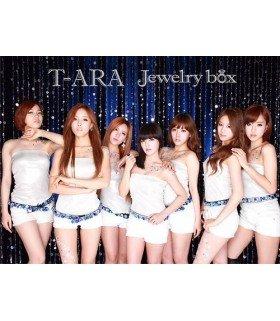 T-ara - Jewelry box (SAPPHIRE EDITION) (ALBUM+DVD) (édition limitée japonaise)