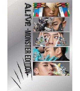 BIGBANG - ALIVE -MONSTER EDITION- (ALBUM+DVD) (édition japonaise)