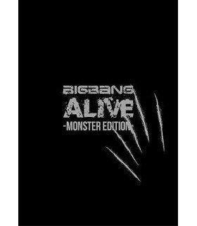BIGBANG - ALIVE -MONSTER EDITION- (ALBUM+DVD+T-SHIRT) (édition limitée japonaise)