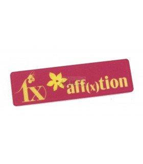 Badge Nominatif en Acrylique f(X)