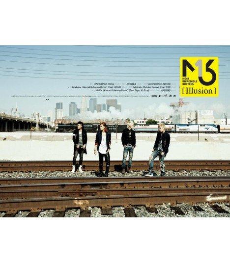 Affiche Officielle M.I.B EP Album - Illusion (type A)