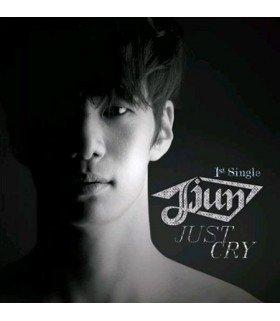 Jjun (제이준) 1st Single - Just Cry (édition coréenne)