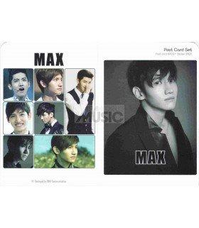 Max (TVXQ) - Post Card Set (8 postcards +  3 stickers)