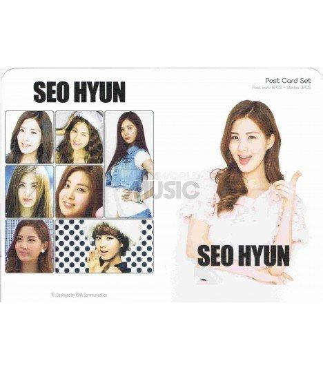 Girls' Generation (Seoyeon) - Post Card Set (8 postcards +  3 stickers)