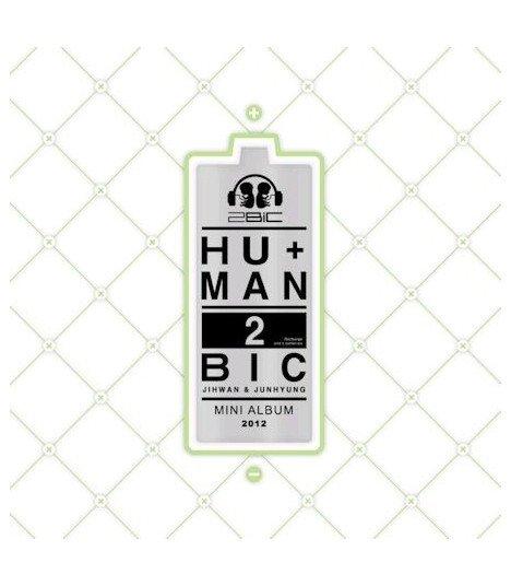 2Bic (투빅) Mini Album Vol. 1 - HU+MAN (édition coréenne)