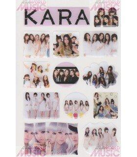 Autocollant 3D - Kara 001