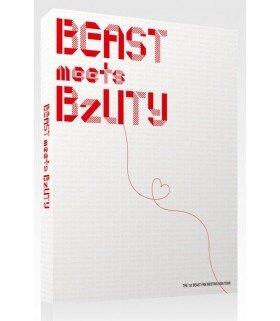 BEAST (비스트) - The 1st BEAST Fan Meeting Asia Tour (2DVD+MAKING BOOK) (édition limitée coréenne)