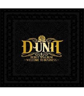 D-Unit (디유닛) Vol. 1 - Welcome To Business (édition coréenne)