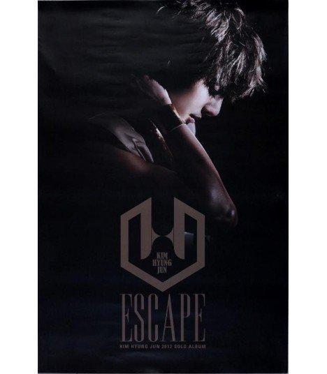 Affiche officielle - Kim Hyung Jun Mini Album Vol. 2 - Escape