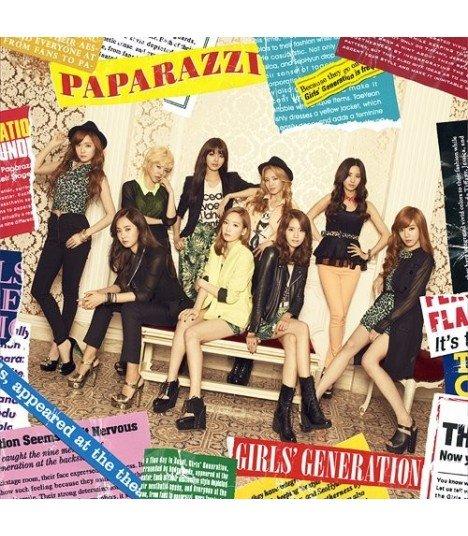 Girls' Generation (소녀시대) - PAPARAZZI (édition normale japonaise)