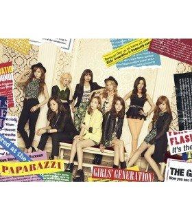 Girls' Generation (소녀시대) - PAPARAZZI (SINGLE+DVD) (édition normale coréenne)