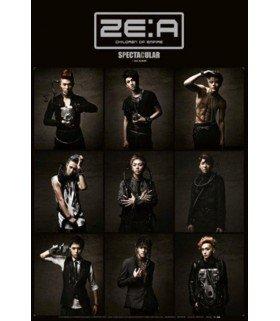 Affiche officielle - ZE:A Vol. 2 - Spectacular